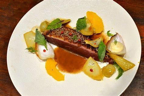 cuisiner une 駱aule d agneau canard 224 l orange gastronomique et p 233 tales de fenouil confits