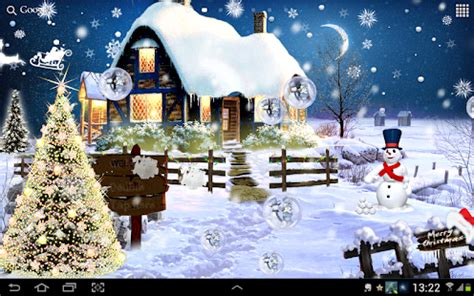 animated christmas trees with snow wallpapers live wallpaper android apps on play