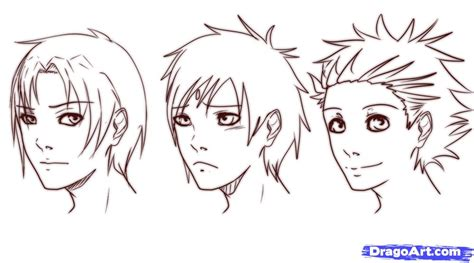 short hairstyles drawings how to draw short hair step by step anime hair anime