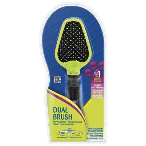 grooming brush buy furminator dual grooming brush for dogs