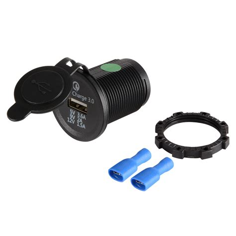 Motorcycle Usb Charger waterproof led 12v motorcycle car usb charger socket power