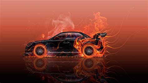 wallpaper abstract car subaru impreza wrx sti tuning jdm side fire car 2016