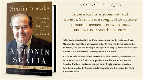 unconfined faith edited an autobiography books scalia speaks a volume of justice scalia s speeches co