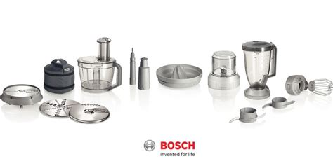 Blender Kf Wli Rrp A20 bosch mcm68861gb multi talent food processor with 10 attachments 50functions around the clock