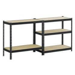 edsal industrial shelving edsal black steel heavy duty 5 shelf shelving unit just 37 68