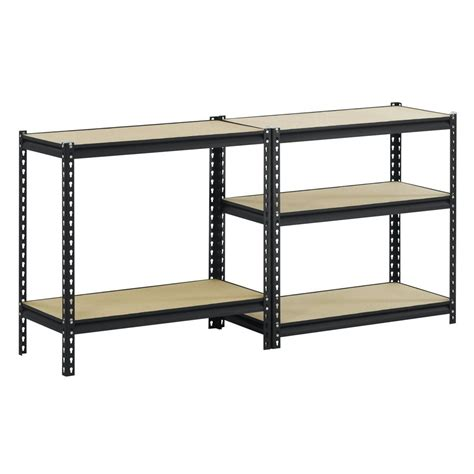 edsal black steel heavy duty 5 shelf shelving unit just 37 68