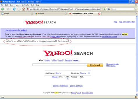 Yahoo Search Top 3 Search Engines