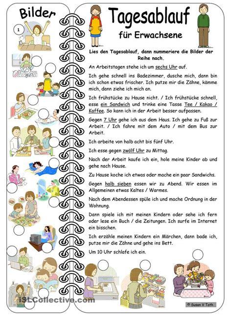 Spanisch Für Badezimmer by Tagesablauf F 252 R Erwachsene Mit Bildern Mit L 246 Sung