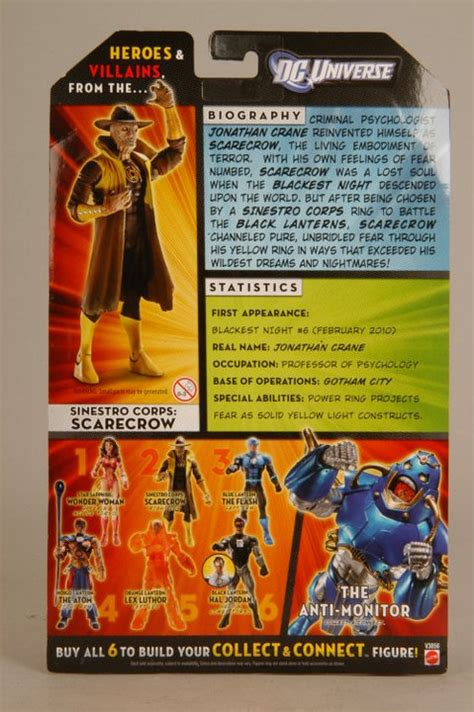Dcuc Wave 17 Figure 2 Sinestro Corps Scarecrow review dc universe classics wave 17 carded