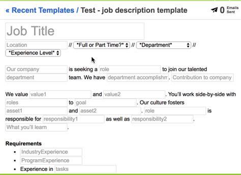 blogger job description attract qualified candidates with this job description