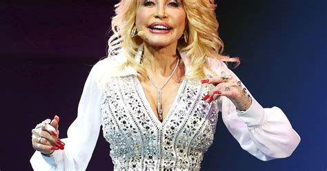 dolly partons tattoos dolly parton addresses secret rumor us weekly