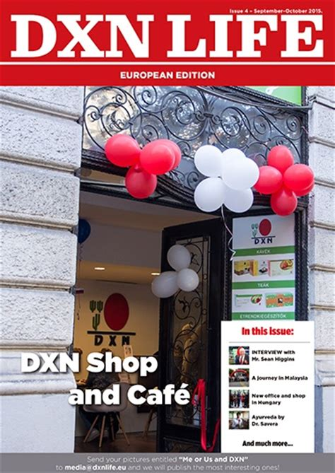 Whos News Lifestyle Magazine 11 by Dxn Life Magazine 4th Issue Cover 2015 11 Dxn Ganoderma