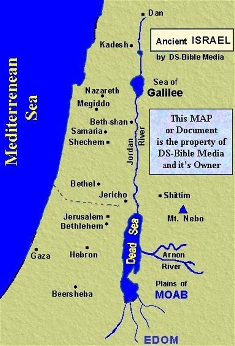 map of new testament jerusalem bible history