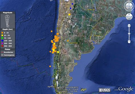 imagenes satelitales chile mapa san fernando chile