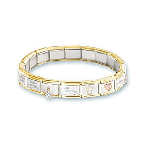 always in my italian charm bereavement bracelet