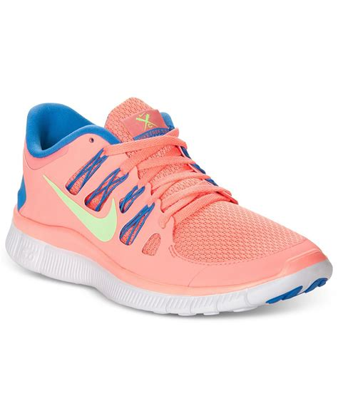 womans nike sneakers nike s shoes free 5 0 sneakers from macys epic
