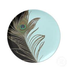 peacock feather oval art glass dish peacock feather fused glass plate wedding gift glass plate slumped glass platter