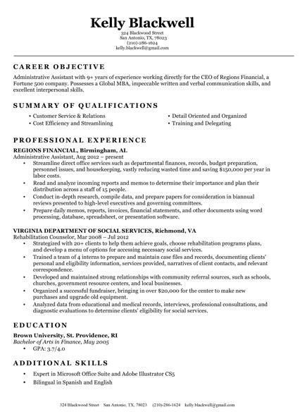 classic resume template curriculum vitae pinterest