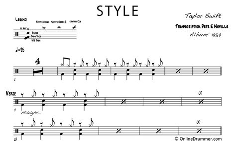 taylor swift style bass style taylor swift drum sheet music onlinedrummer