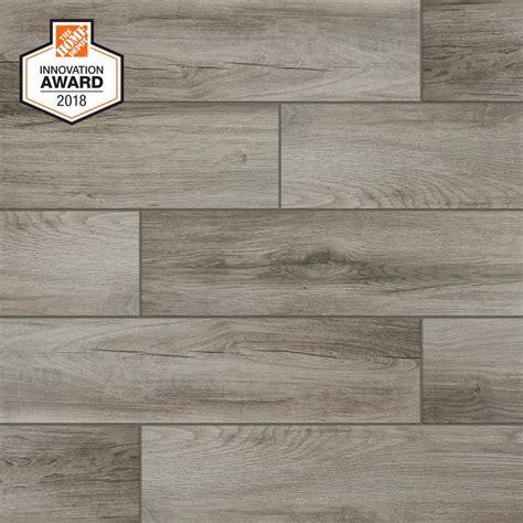 1 floor tiles lifeproof shadow wood 6 in x 24 in porcelain floor and