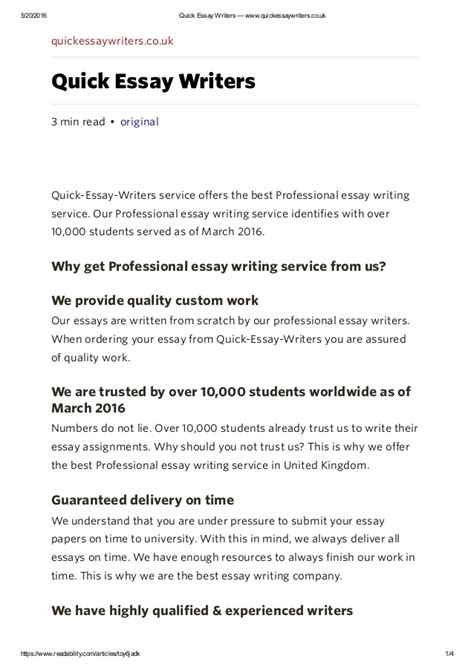 Essay Paper Writing Services by Essay Writing Service Uk Essay Writers Www Quickessayw