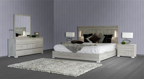 vig modrest ethan modern grey bedroom set made in italy