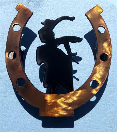 bangs horse shoe cut my work ignition metal art design
