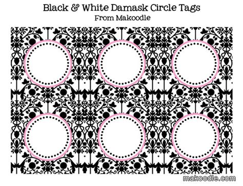 free printable damask banner 8 best images of free printable damask buffet black and