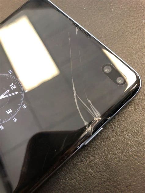 solved  cracked screen samsung     ta
