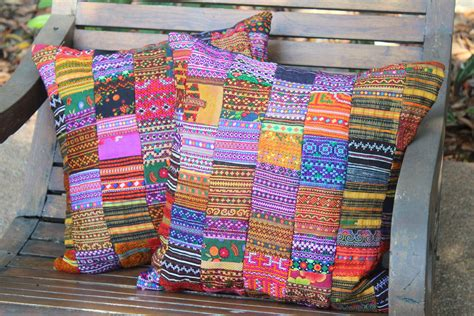 Patchwork Textiles - 5 trendy home decorations for spicing up how ornament my