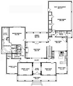 5 Bedroom Farmhouse Floor Plans 653740 1 5 story 3 bedroom 3 5 bath southern country