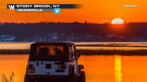 Jeep Sunset Weather Why Sky At Sailors Delight