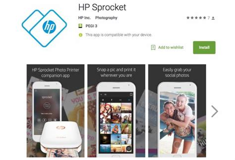 hp printer app for android hp sprocket photo printer has a companion app product reviews net