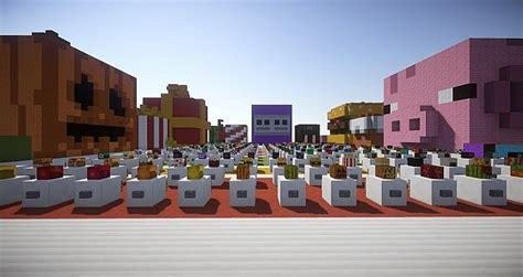 Minecraft Heads Decoration by Gallery Schemagic