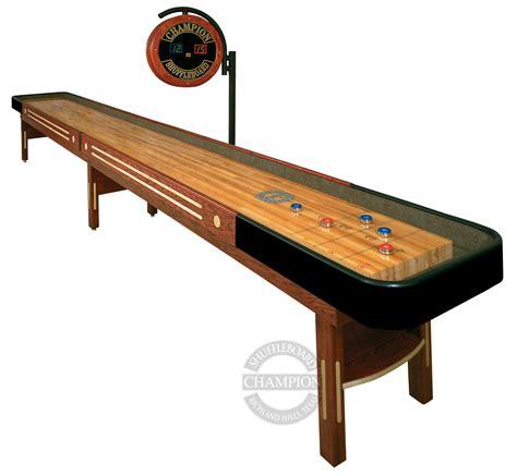 14 grand chion shuffleboard table