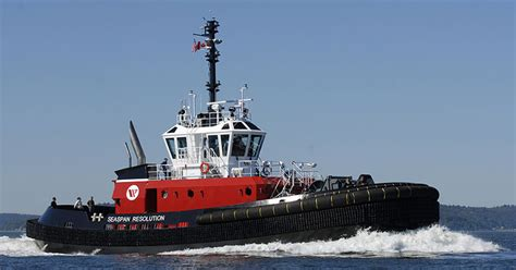 tugboat group vancouver powerful new az 30 80 class tug seaspan resolution