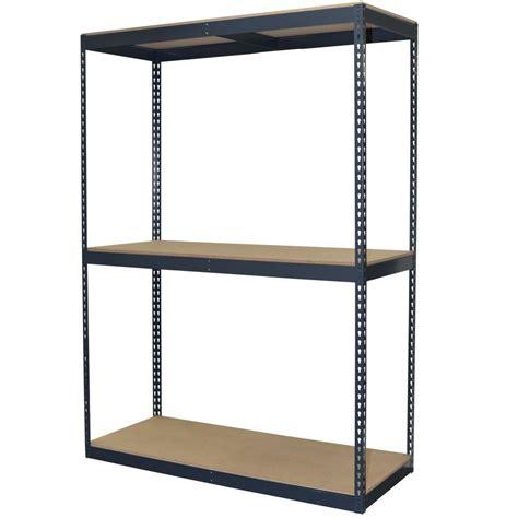 storage concepts 96 in h x 60 in w x 24 in d 3 shelf