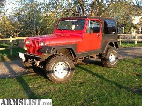 87 Jeep Wrangler For Sale Armslist For Sale 87 Jeep Wrangler With Top