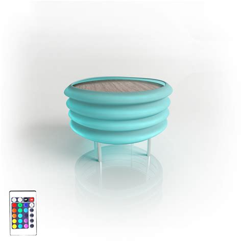 Color Changing Table Zepplin Color Changing Table Contempo Lights Touch Of Modern