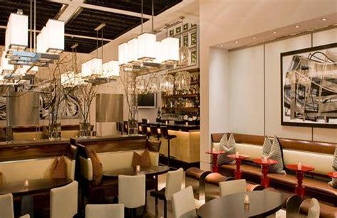 contemporary aesthetic restaurant interior design of cut