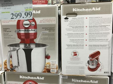 costco kitchen aid mixer kitchenaid rebate costco wow