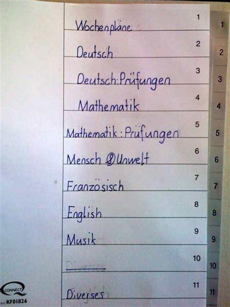 Word Vorlage Register Mit Computer Oder Projektschule Goldau