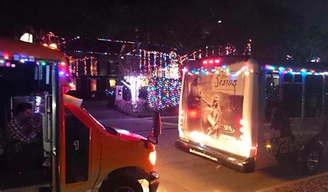8th annual holiday lights tour on the wave 365 houston