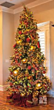Fall Decorated Trees - 1000 images about christmas trees royal red and gold theme by show me decorating on pinterest