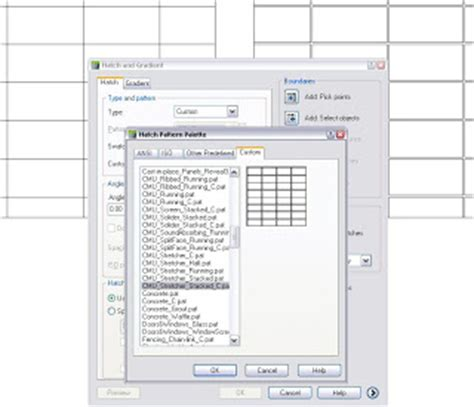 sketchup layout hatch patterns architectural hatches