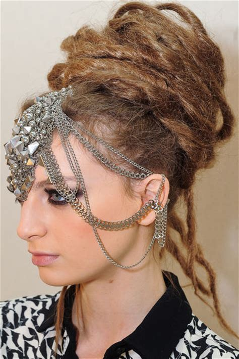 hair illusions dreads chanel paris bombay makeup and nail polish featuring a