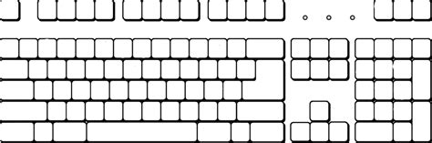 template of keyboard blank keyboard template printable vastuuonminun