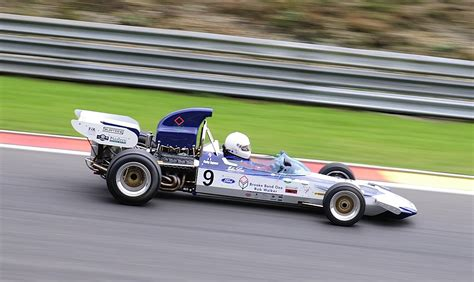 formel 1 wagen 9 surtees ts9 formel1 wagen 1971 mit 3000ccm fahrer