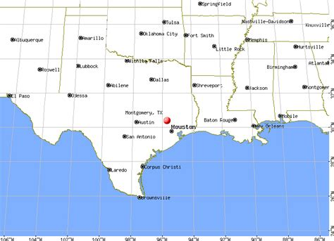 Montgomery County Tx Search Map Montgomery My