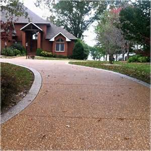 Decorative Pea Gravel Aggregate Concrete Driveway Sealer Wet Look Pebble Pea